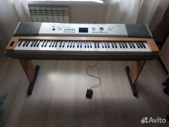 Синтезатор (пианино) yamaha DGX-630 купить в Томской области на
