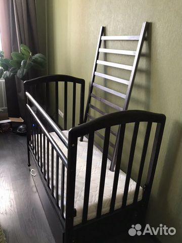 Кроватка Детская (в подарок матрас, мягкие бортики 89132873839 купить 2