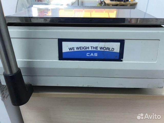 Весы торговые CAS LP-15R (VS1.6) с печатью этикето 89081405396 купить 6