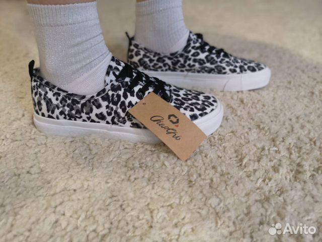 Леопардовые кроссовки, кеды тренд 2019 купить 7