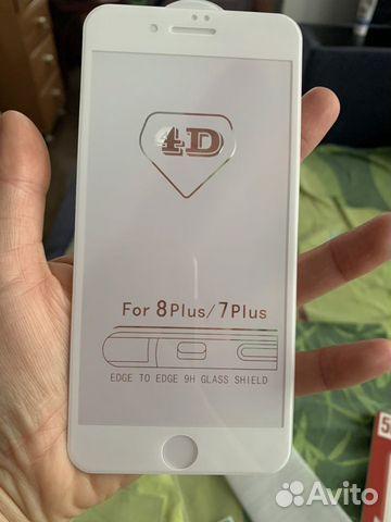 Защитное стекло для Айфон 7/8 плюс  89069697770 купить 1