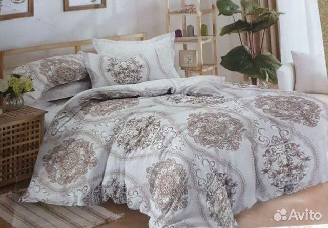 2-х спальное постельное белье, Сатин