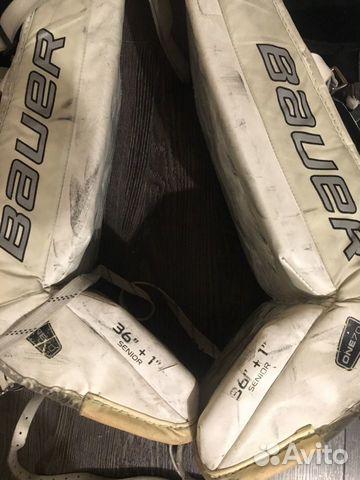Хоккейные вратарский щитки 89001986232 купить 1