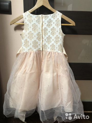 Нарядное пышное платье 89082680032 купить 2