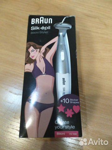 89133880908  Триммер Braun Silk Epil Bikini Styler