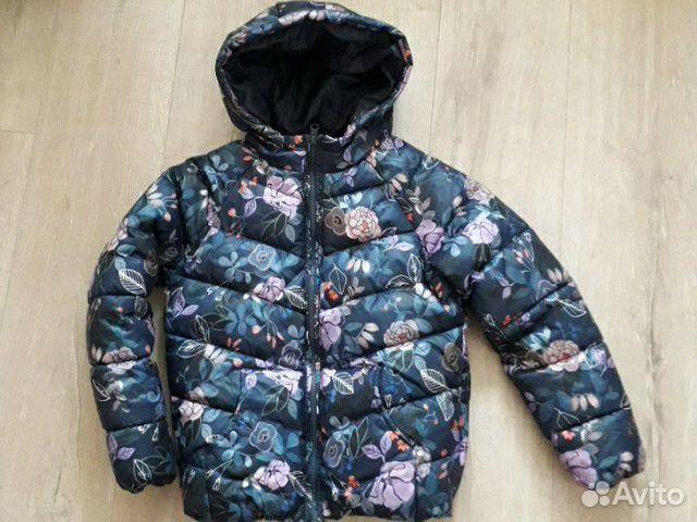 Куртка утепленная для девочки 89176687264 купить 1