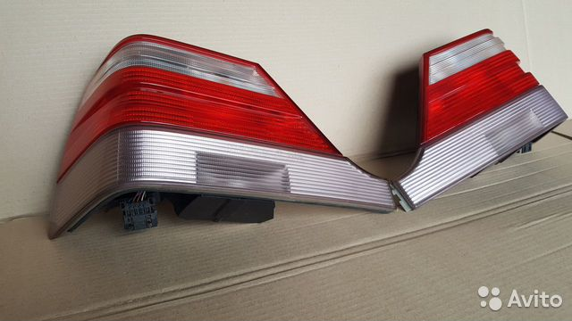 W140 Mercedes фонари задние оригинал 89118997766 купить 1