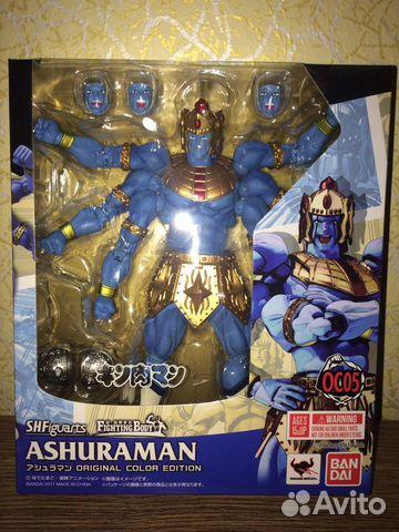 Фигурка Kinnikuman S.H.Figuarts Ashuraman (Origina купить 1