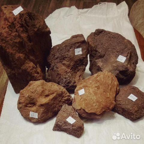 Вулканическая Лава камни 1 - 5 кг для аквариума 89504050813 купить 2