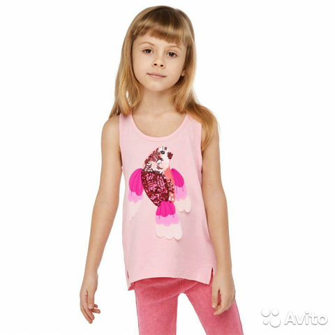 Майка для девочки 89520543858 купить 2