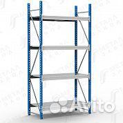 Среднегрузовые стеллажи для склада и сто
