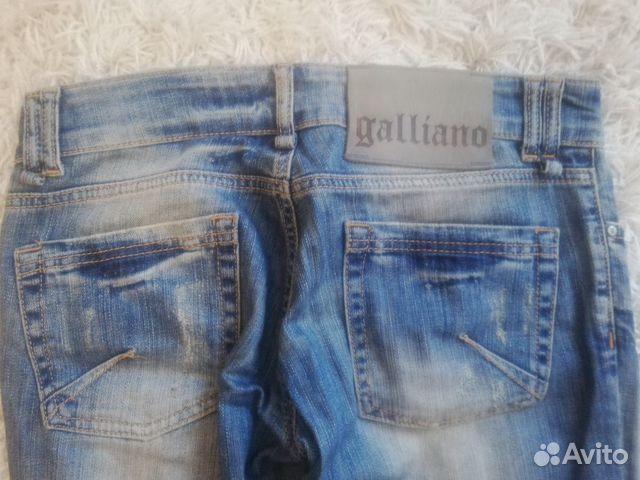 Джинсы galliano(италия)  89511739424 купить 4