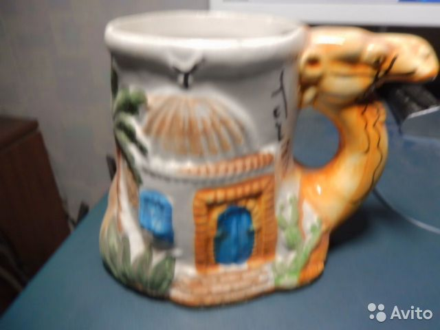 Кружка-верблюд новая (привезена из Туниса)  89885518896 купить 1