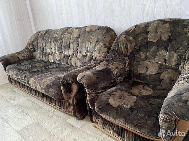 2 Дивана и кресло  89787847771 купить 1