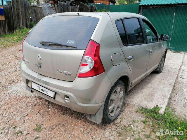 Renault Sandero, 2010  купить 5