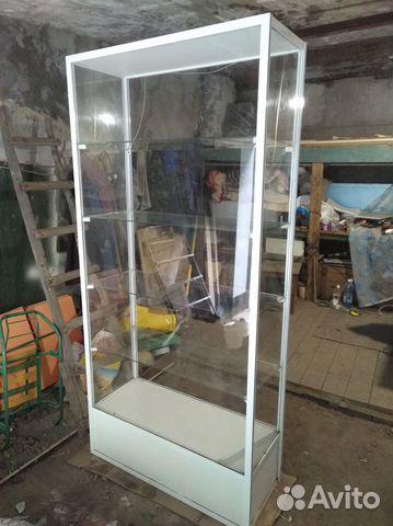 Стеклянный стеллаж (витрина для магазина)  89293686087 купить 1