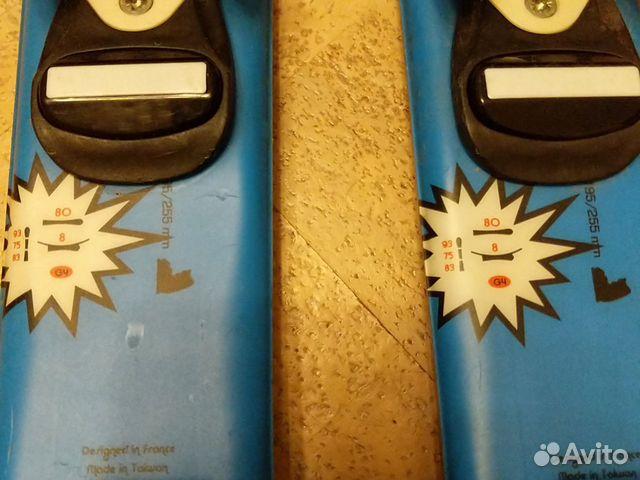 Горные лыжи детские 80 rossignol  89119556699 купить 3