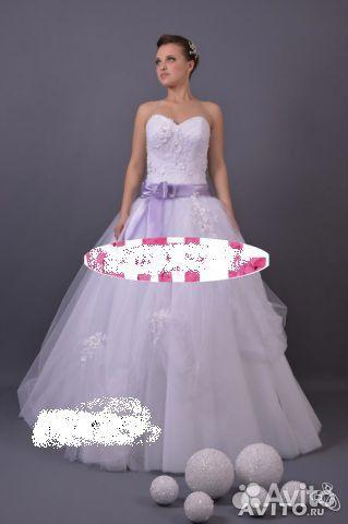 Купить фиолетовое свадебное платье