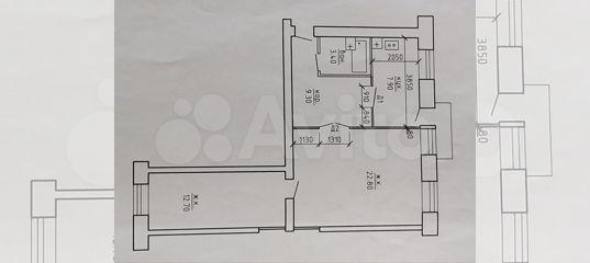 2-к квартира, 56 м², 4/4 эт.