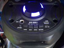 Колонка с Bluetooth RS-8881 micro SD/USB/AUX/TWS