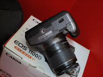 Фотоаппарат Canon 1100D + 18-55