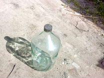 Стеклянный бутыль 20л