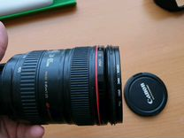 Объектив Canon 24-105 f4 is usm