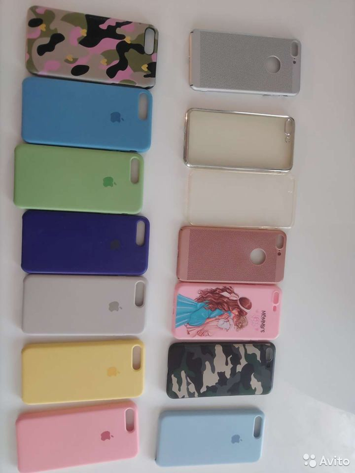 Чехлы на iPhone 7,8 plus