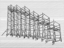 Вышка Тура 0,7;1,0;1,2;1,6;2,0 Леса строительные а