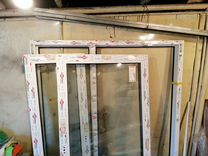 Пластиковое окно. размер 1,40м Х 1,65м