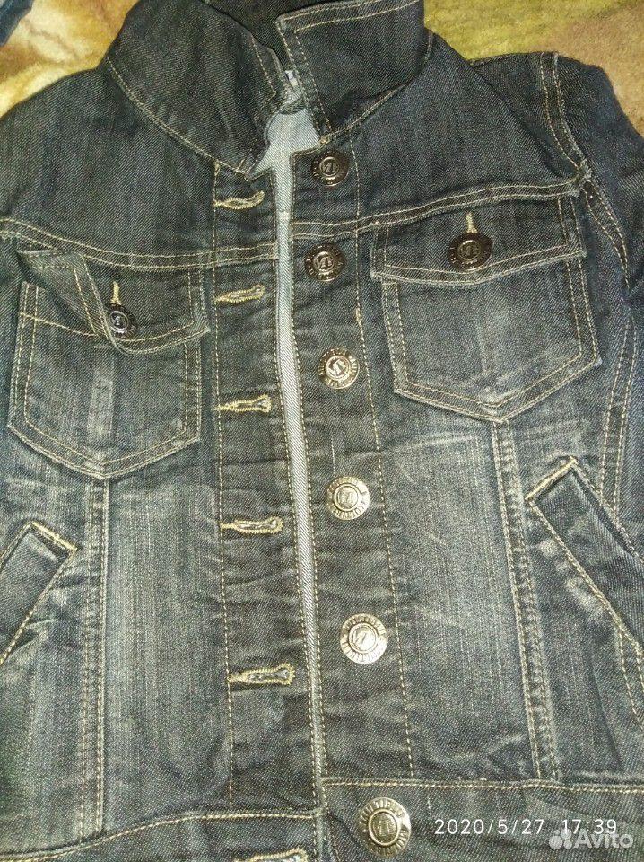 Джинсовые куртки и ветровка для девочки 7-8 лет  89109631283 купить 8