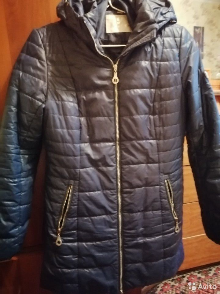 Куртка синяя. Женская. На весну и на осень  89969184766 купить 1