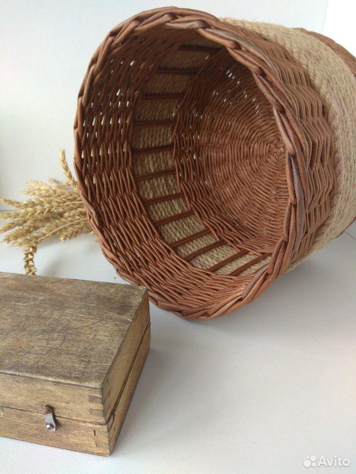 Плетеная корзина  89607924495 купить 2