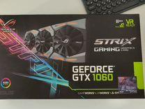 Видеокарта asus gtx 1060 6gb rog strix gaming oc