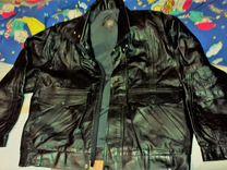 Куртка натуральная кожа р.54, немного бу