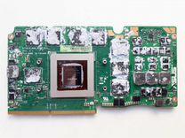 Видеокарта для ноут. Asus G750JH. Отп. в регионы