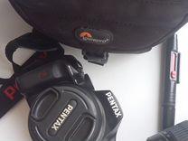 Фотоаппарат зеркальный Pentax K-x + 18-55 F3.5-5.6