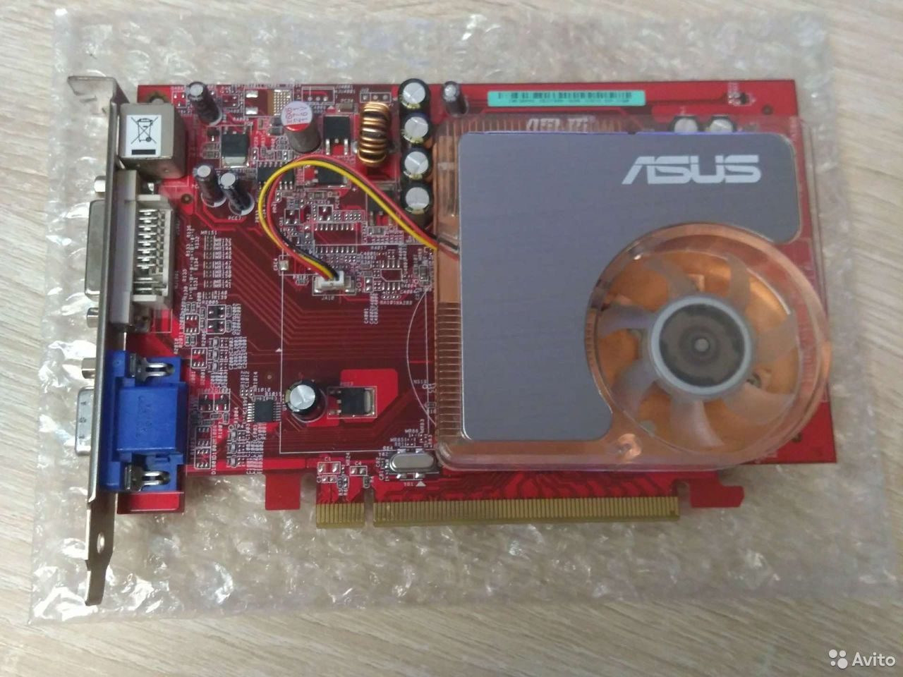 Видеокарта ATI Radeon Asus 256 Мб  89878209940 купить 1
