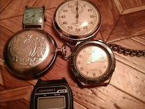 Секундомер(часы)