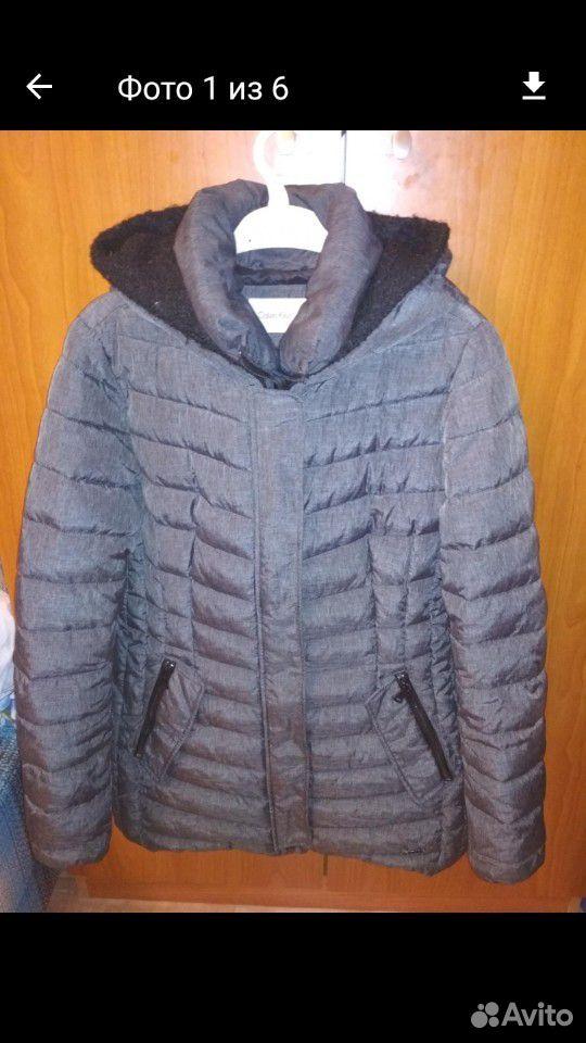 Куртка зимняя Calvin Klein р-р M  89122311294 купить 1