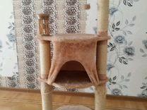 Домик -когтеточка для кошки