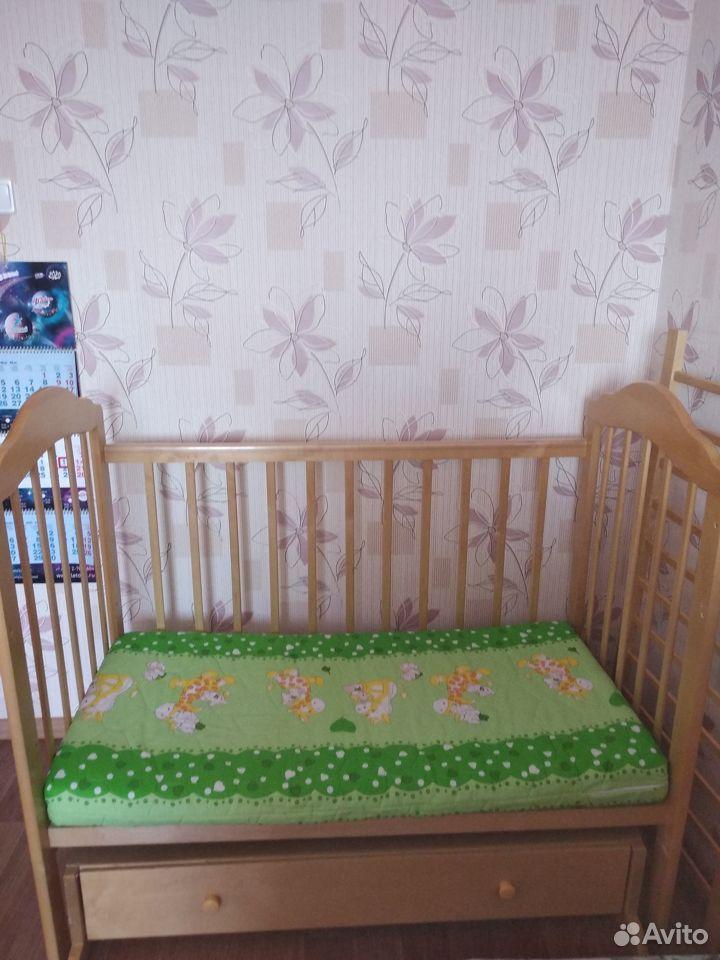 Детская кровать с матрасом  89504656807 купить 2