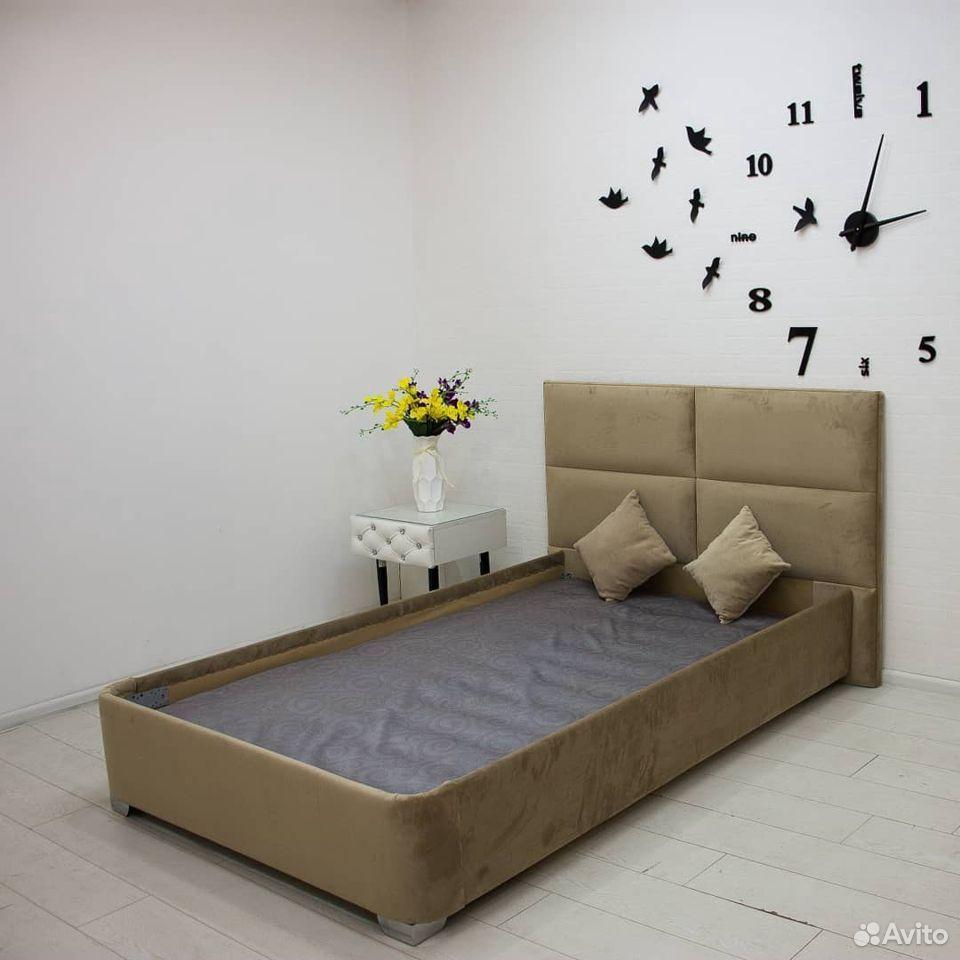 Кровать Дольки с мягким изголовьем