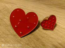Сердечки-значки