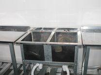 Нейтральное оборудование из нерж. aisi 430 б.у