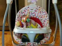 Детское кресло качалка электрическая