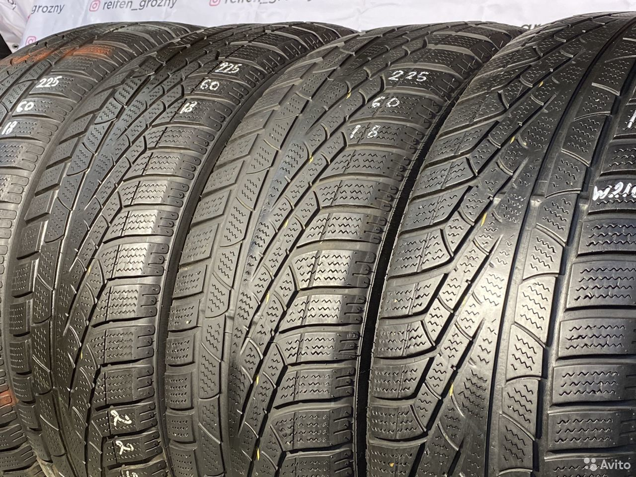 225/60/18 Pirelli SottoZero Winter 210 - 4 шт  89380001718 купить 1