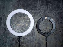 Кольцевая лампа для визажиста Zomei 35,45