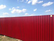 Забор из профнастила, забор из профлиста