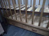 Кровать-маятник+матрас